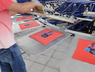 Screen Printing Polyester Mesh Fabric for Clothing